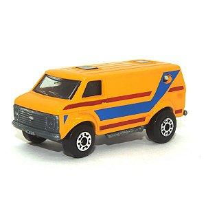 Chevrolet Van L. Azul Nº68 1/64 Matchbox Anos 70