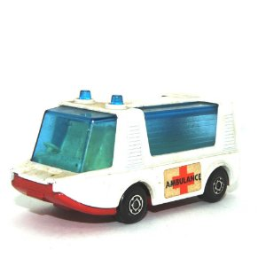 Stretcha Fetcha Ambulance Nº46 1/64 Matchbox Anos 70