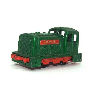 Diesel Shunter Nº24 1/64 Matchbox Anos 70 verde