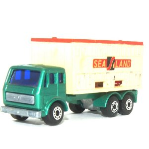 Mercedes Container Truck Nº42 1/64 Matchbox Anos 70