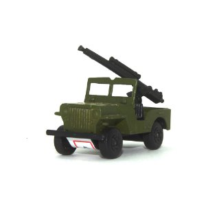 Armoured Jeep Nº38 1/64 Matchbox Anos 70