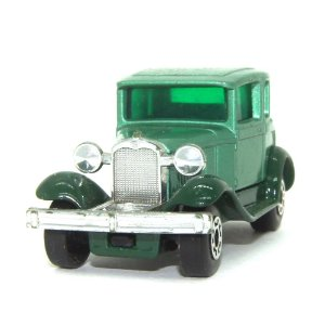 Model A Ford Nº73 1/64 Matchbox Anos 70 verde+verde