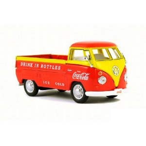 Volkswagen Kombi T1 Pick Up Truck 1962 Coca Cola 1/43 Motorcity Classics