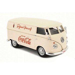 Volkswagen Kombi Cargo Van 1962 Creme Coca Cola 1/43 Motorcity Classics