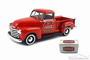 Coca-Cola Chevrolet Pickup 1953 1/43 Motorcity Classics