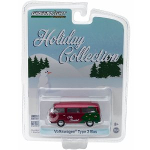 Volkswagen Kombi Type 2 Bus Holiday Collection 1/64 Greenlight