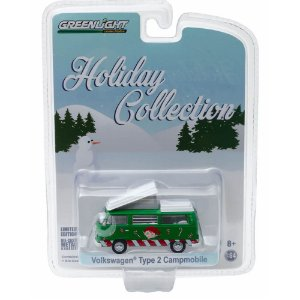 Volkswagen Kombi Type 2 Campmobile Holiday Collection 1/64 Greenlight