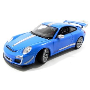 Porsche 911 GT3 RS 4.0 Azul 1/18 BBurago