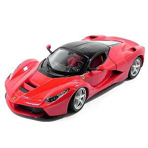 Ferrari Laferrari F70 2013 Vermelha 1/24 Bburago Race & Play