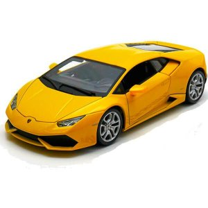 Lamborghini Huracán LP 610-4 2014 Amarelo 1/18 BBurago Italian Design