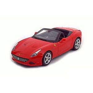 Ferrari California T Spider Open Roof 2014 Vermelha 1/18 BBurago Race & Play