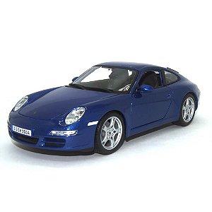 Porsche 911 997 Carrera S Coupe 2005 Azul 1/18 Maisto Special Edition