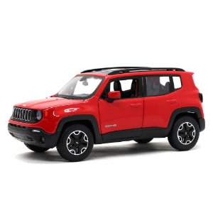 Jeep Renegade 2017 Vermelho 1/24 Maisto Special Edition