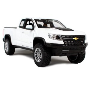 Chevrolet Colorado ZR2 2017 Branca 1/24 Maisto Special Edition