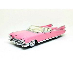Cadillac Eldorado Biarritz 1959 Rosa 1/18 Maisto Premiere Edition