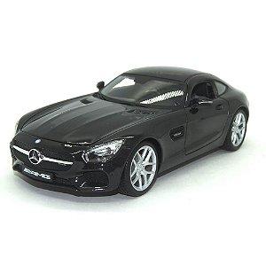 Mercedes-Benz AMG GT Preta 1/18 Maisto Premiere Edition