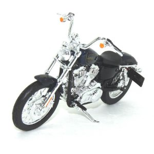 Moto Harley Davidson XL 1200V Seventy-Two 2012 Azul 1/18 Maisto HD Custom Series 34