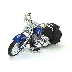 Moto Harley Davidson FLSTS Heritage Softail Springer 1999 1/18 Maisto HD Custom Series 35