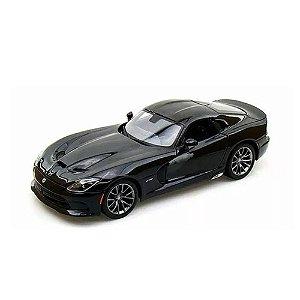 Dodge SRT Viper GTS 2013 Preto 1/18 Maisto Special Edition