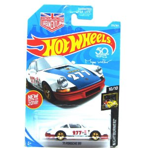 Porsche 911 1971 1/64 Hot Wheels Night Burnerz