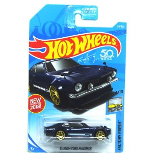 Custom Ford Maverick 1/64 Hot Wheels Factory Fresh