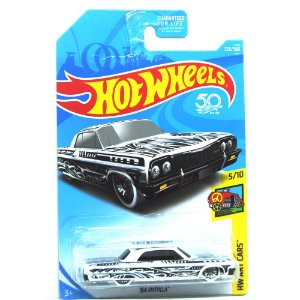 Impala 1964 1/64 Hot Wheels HW Art Cars