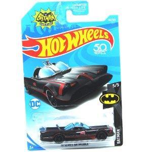 TV Series Batmobile 1/64 Hot Wheels Batman