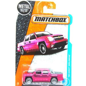 Chevrolet Avalanche 2012 1/64 Matchbox