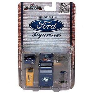 Acessórios para Oficina Ford 1/18 Motorhead