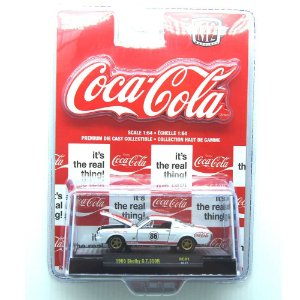 Shelby GT350R 1965 Coca Cola 1/64 M2 Machines 52500 RC01