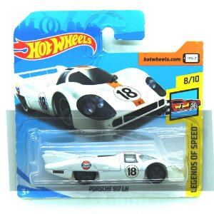 Porsche 917 LH Gulf 1/64 Hot Wheels Legends of Speed