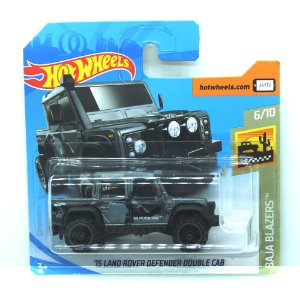 Land Rover Defender Cabine Dupla 2015 1/64 Hot Wheels Baja Blazers