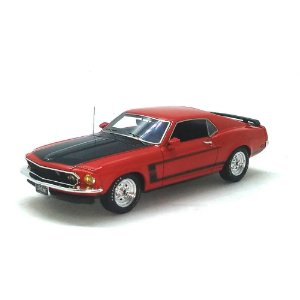 Ford Mustang Boss 302 1969 1/43 Highway 61 43RD Street Collectibles