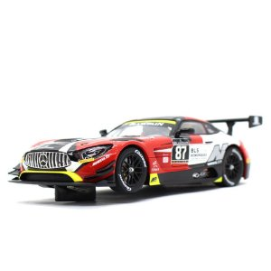 Slot Car Mercedes Benz AMG GT3 AKKA ASP 87 1/32 Carrera Evolution