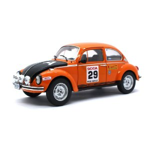Volkswagen Fusca Scca Team Sport Car Club Of America N 29 Rally Scca 1980 1/18 Solido