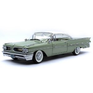 Pontiac Bonneville Hard Top 1959 1/18 Sun Star The Platinum Collection