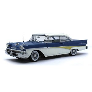 Ford Fairlane 500 Hardtop 1958 Around The World 1/18 Sun Star The Platinum Collection