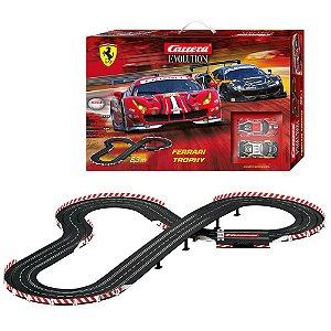 Pista Elétrica Slot Car Carrera Ferrari Trophy 6,3 metros