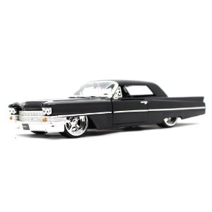 Cadillac 1963 Preto 1/24 Jada Toys Big Time Kustoms