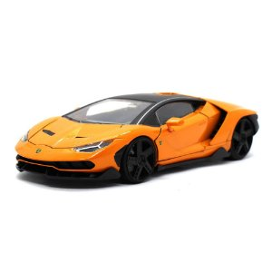 Lamborghini Centenario 2017 Laranja 1/24 Jada Toys Hyper Spec