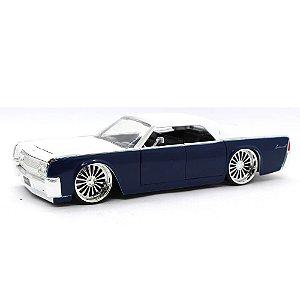 Lincoln Continental 1963 Branco 1/24 Jada Toys Big Time Kustoms