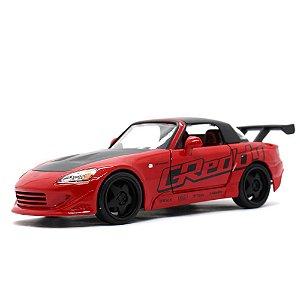 Honda S2000 Spider Greddy 2001 Vermelho 1/24 Jada Toys JDM Tuners