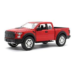 Ford F-150 Raptor 2017 Vermelho 1/24 Jada Toys Just Trucks
