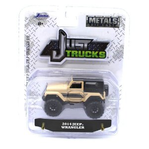 Jeep Wrangler 2014 1/64 Jada Toys Just Trucks Wave 17