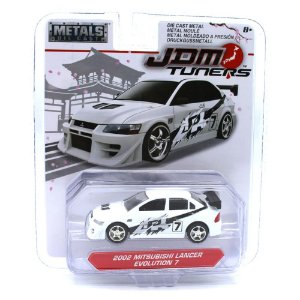 Mitsubishi Lancer Evolution 7 2002 1/64 Jada Toys JDM Tuners Wave 2