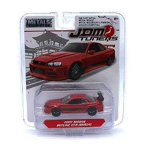 Nissan Skyline GT-R BNR34 2002 1/64 Jada Toys JDM Tuners Wave 3
