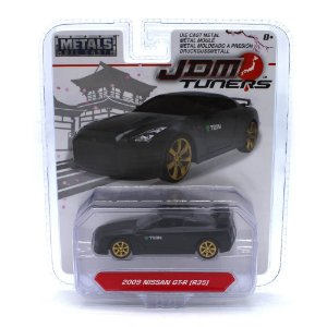 Nissan GT-R R35 2009 1/64 Jada Toys JDM Tuners Wave 3