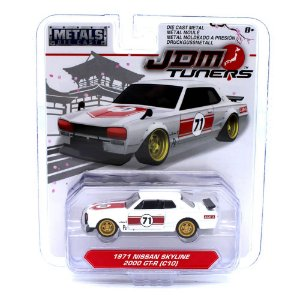 Nissan Skyline 2000 GT-R C10 1971 1/64 Jada Toys JDM Tuners Wave 3