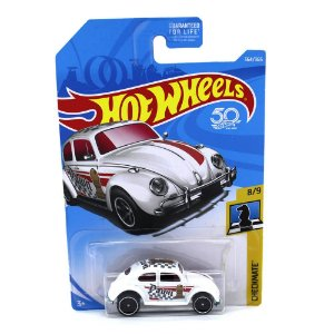 Volkswagen Fusca 1/64 Hot Wheels 50 Anos Checkmate