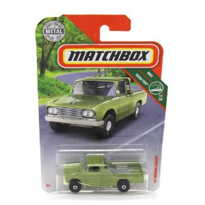 Nissan Junior 1962 Verde 1/64 Matchbox MBX Road Trip